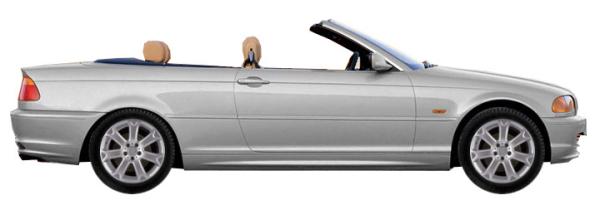 диски на BMW 3 series E46 Cabrio 330 CD 2000-2007 г.в.