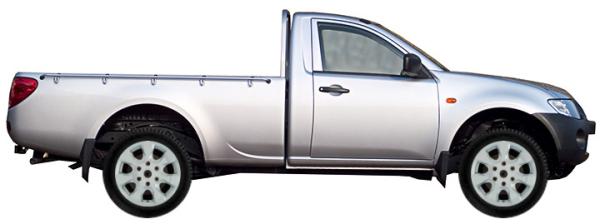 диски на Mitsubishi L200 KA0T Single Cab 2d 2.5 DI-D 2006-2016 г.в.