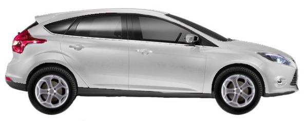 диски на Ford Focus DYB Hatchback 5d 2.0 TDCi 2011-2015 г.в.
